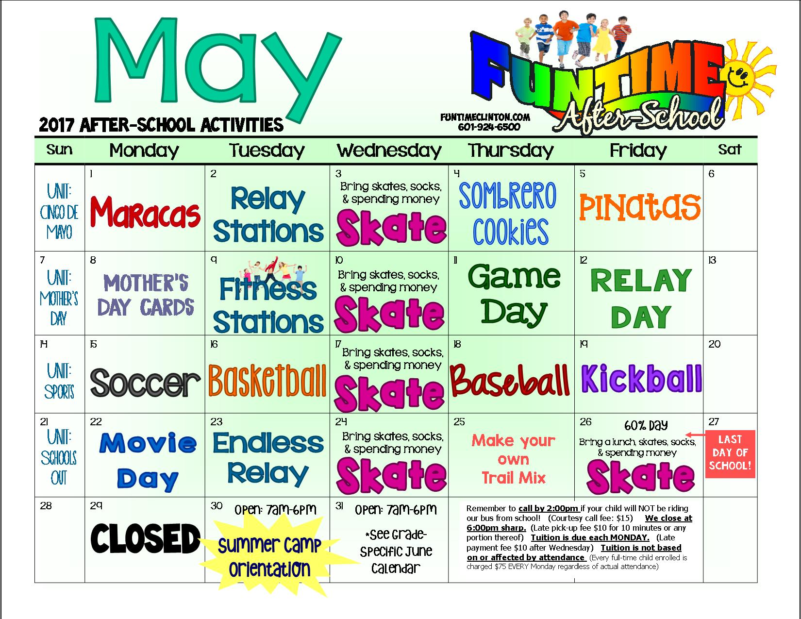 May 17 - AFTERSCHOOL